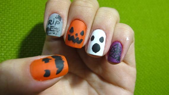 Elegant Halloween nail art designs | family holiday.net ...