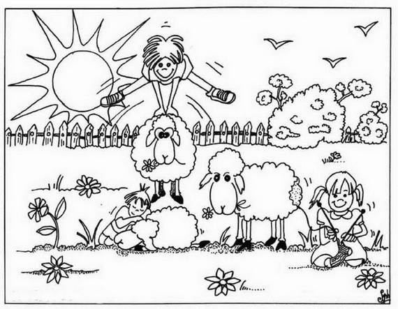 muslim holidays coloring pages - photo#22