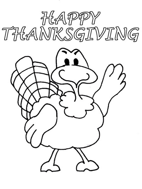 Free Coloring Sheets For Thanksgiving Family Holiday Net