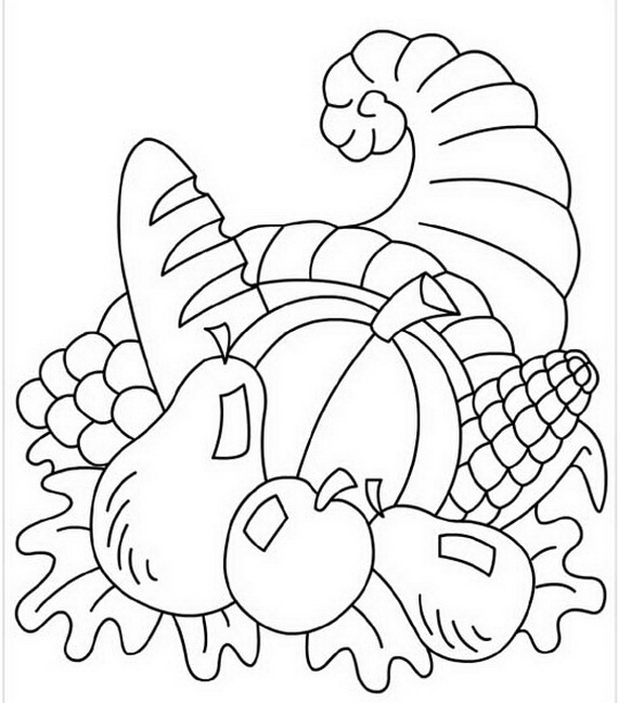 Free Coloring Sheets for Thanksgiving | family holiday.net ...