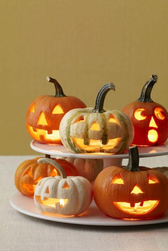 Mini Pumpkin Tealight Candle Holders
