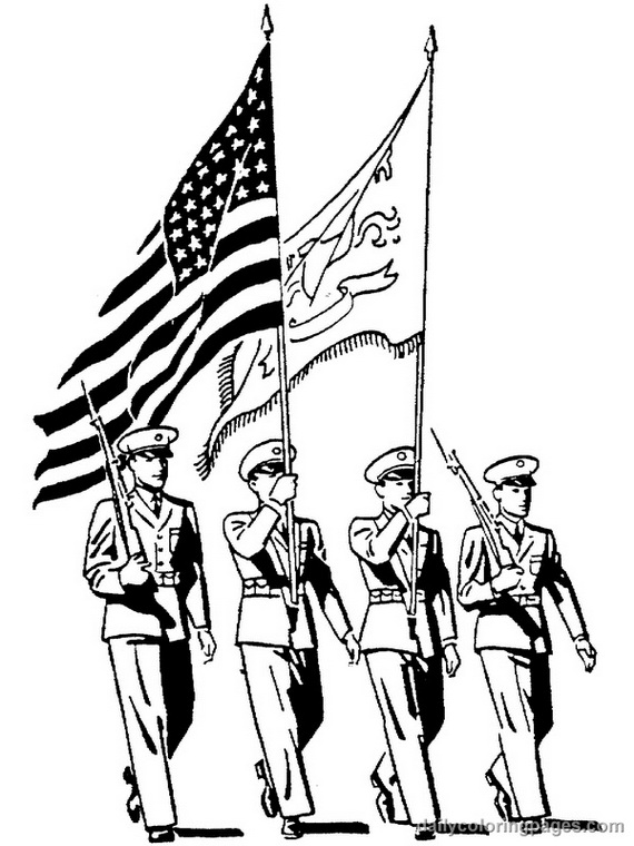 Remembrance Day or Veteran's Day Coloring Pages an Important ...