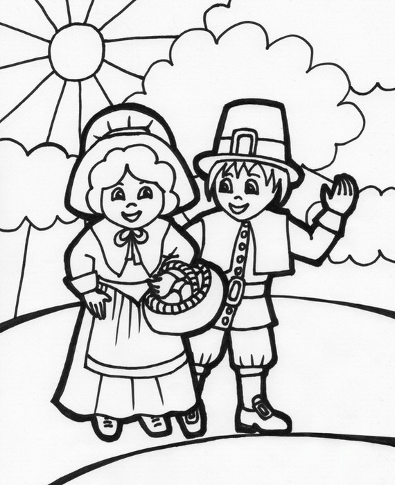 Thanksgiving Coloring Pages for Kids - family holiday.net ...