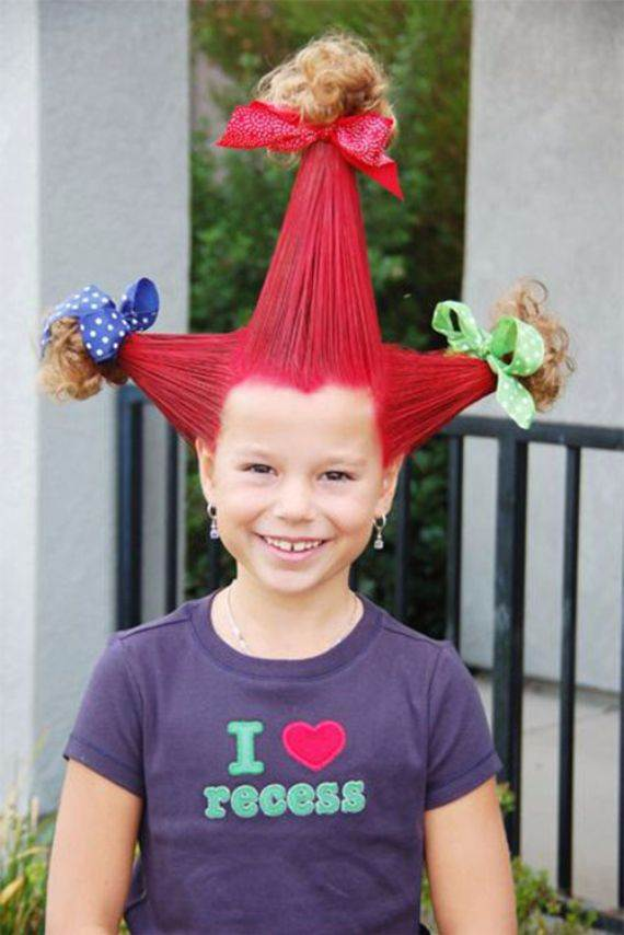 Top 50 Crazy Hairstyles Ideas For Kids Family Holiday Net