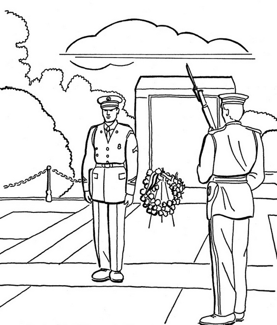 - Veterans Day Coloring Pages For Kids Family Holiday.net/guide To Family  Holidays On The Internet