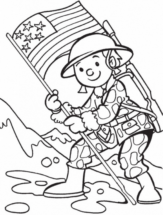 Add Fun, Veterans Day Coloring Pages for Kids - family ...