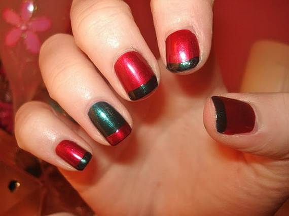 Best Easy Simple Christmas Nail Art Designs Ideas