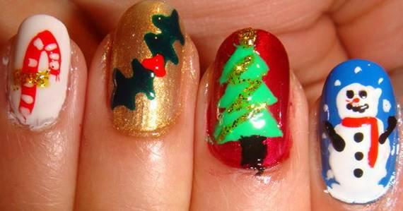 Best-Easy-Simple-Christmas-Nail-Art-designs-Ideas_2