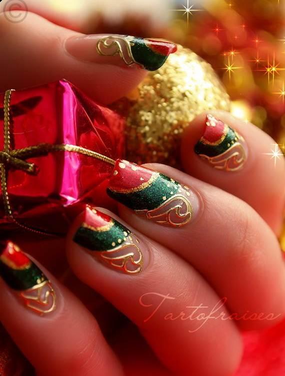 Best-Easy-Simple-Christmas-Nail-Art-designs-Ideas_20