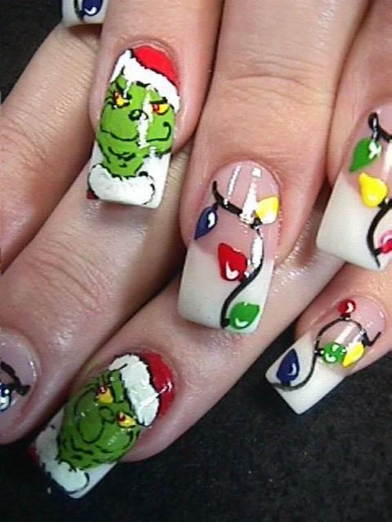 Christmas Nail Designs.Best Easy Simple Christmas Nail Art Designs Ideas