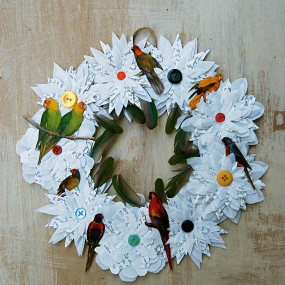 Christmas-Handmade-Paper-Craft-Decorations_38