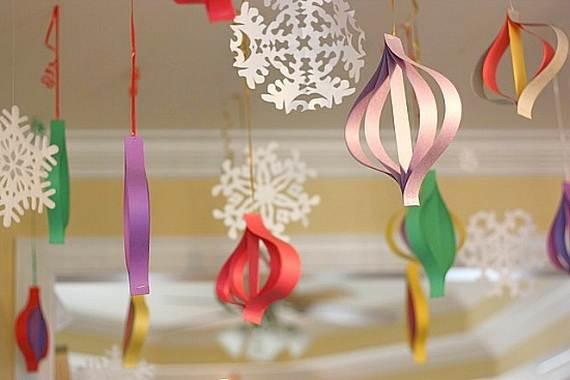 Christmas Handmade Paper Craft Decorations | family ...