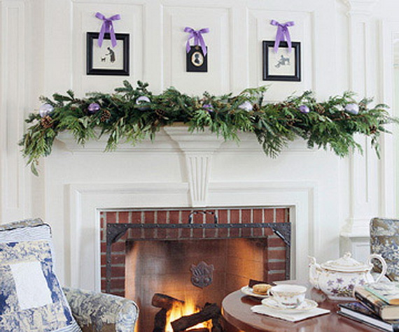 Decorate a Mantel with a Holiday Centerpiece - family ...