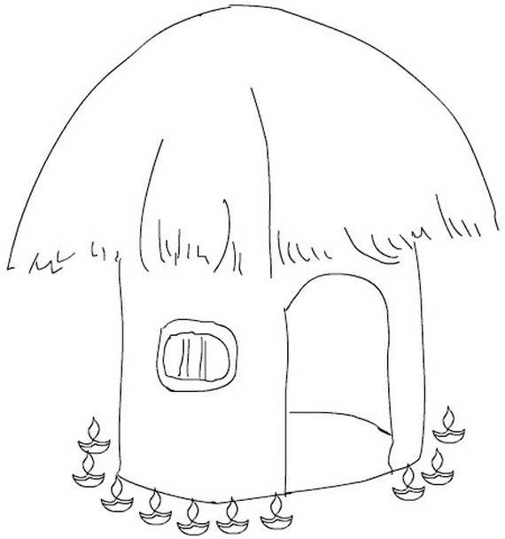 Diwali L Coloring Pages Coloring Page