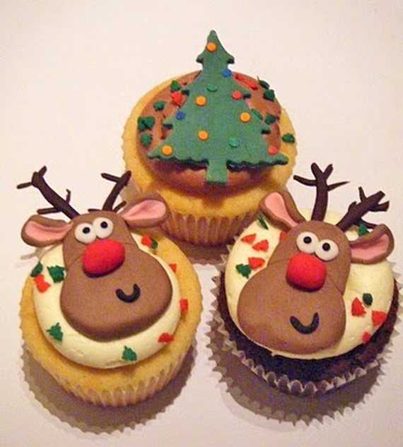 Easy Christmas Cupcakes For Kids.45 Easy And Creative Christmas Cupcake Decorating Ideas