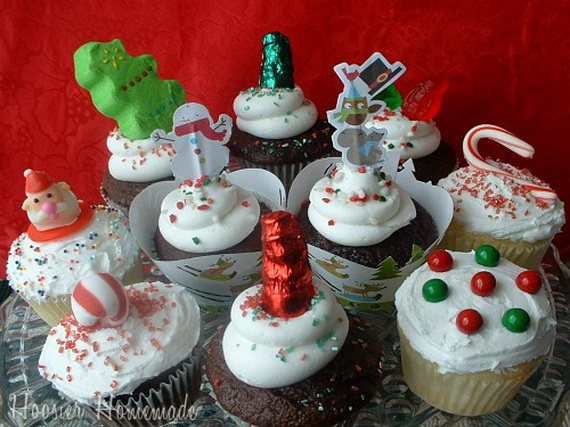 The Cutest Christmas Cupcake Ideas Ever Family Holiday Net Guide