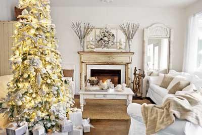 White Christmas Decorating Ideas