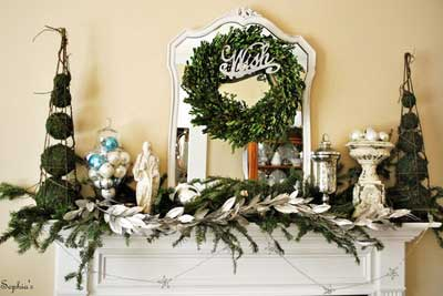 44 fascinating christmas ideas for indoors and outdoors 48 inspiring holiday fireplace mantel decorating ideas - Images Of Fireplace Mantels Decorated For Christmas
