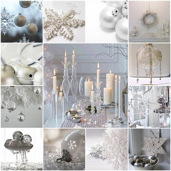White Christmas Decorating Ideas Family Holidaynetguide