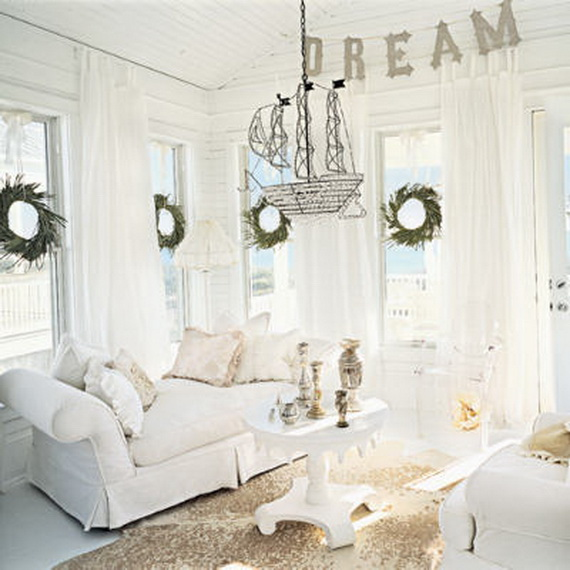 White Christmas Decorating Ideas Family Holiday Net Guide
