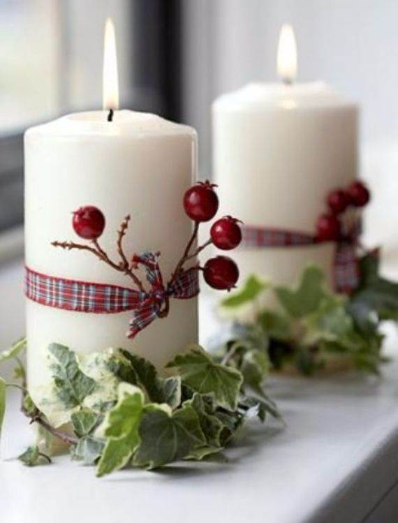 candles-wrapped-with-berries-ribbon-and-leaves