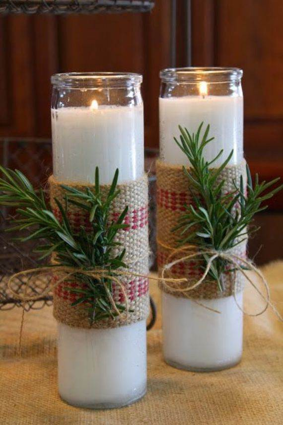 candles-wrapped-with-burlap-rosemary-and-twine-for-a-rustic-look