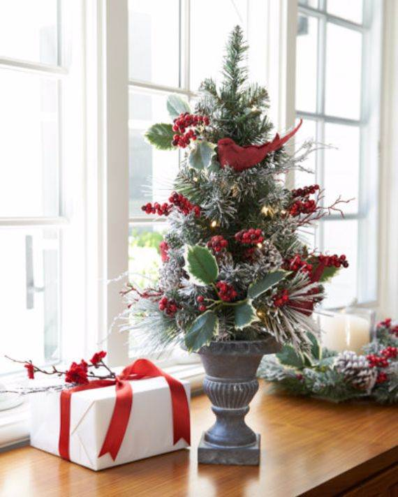 Beautiful Tabletop Christmas Trees Decorating Ideas Designs Family Holiday Net Guide To Family Holidays On The Internet