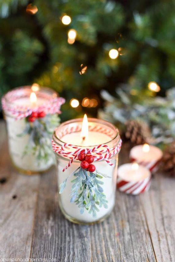 mason-jar-candles-with-twine-and-berries