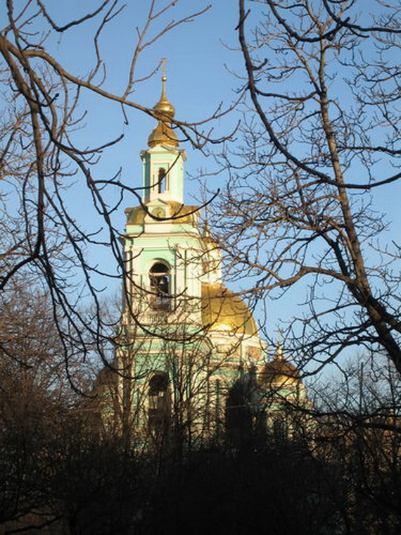 Cathedral of the Epiphany (Bogoyavlensky monastery), Moscow _12