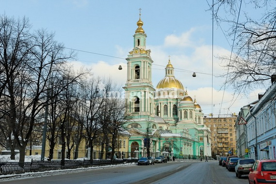 Cathedral of the Epiphany (Bogoyavlensky monastery), Moscow _14