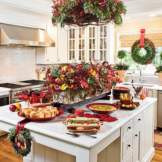 christmas decorating ideas for the kitchen unique kitchen decorating ideas for family 26532