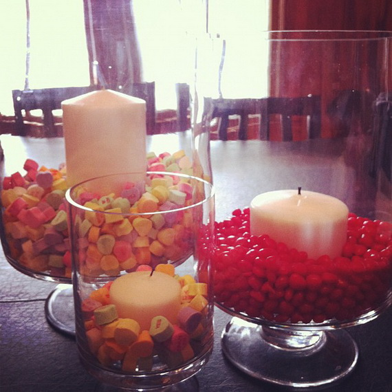 Amazing- &-Easy- Homemade- Valentine's- Day -Centerpieces- Ideas _16