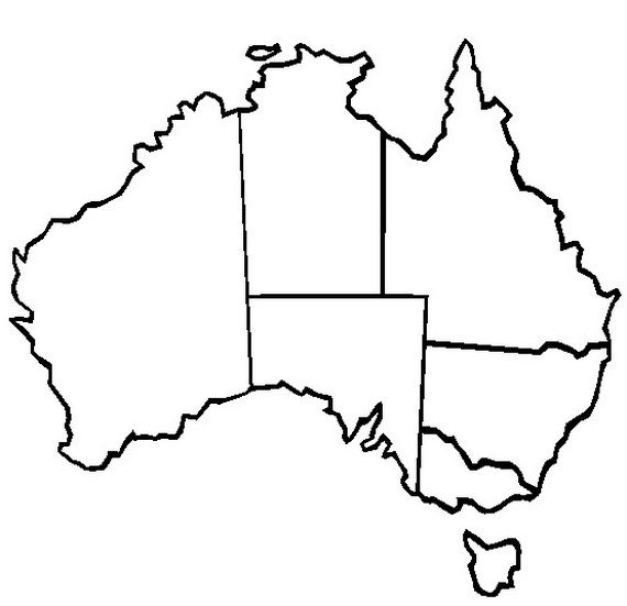 Australia Day Coloring Pages For Kids Family Holiday.net/guide To Family  Holidays On The Internet