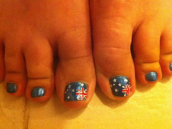 Australia Day Nail Art _04