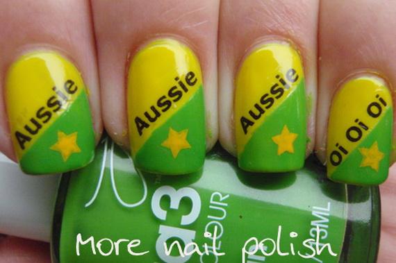 Australia Day Nail Art _29