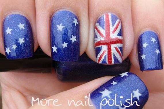 Australia Day Nail Art _37