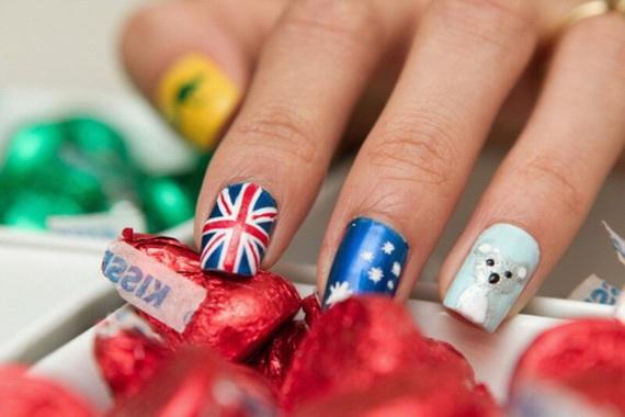 Australia Day Nail Art _54