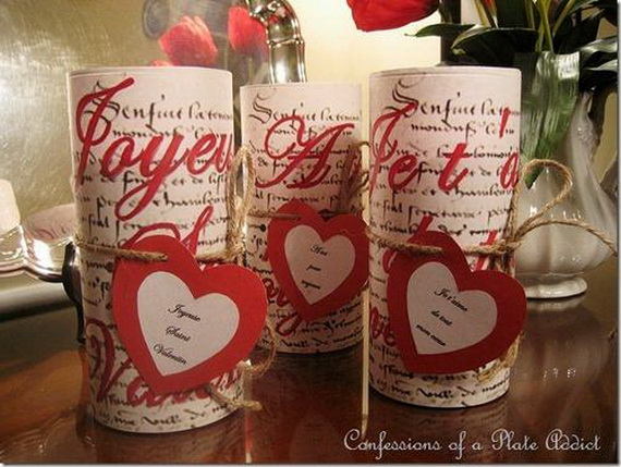 Beautiful- and -Romantic- Candle - Decorations- for- Valentine's- Day_09