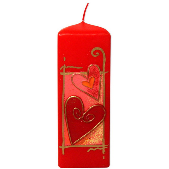 Beautiful- and -Romantic- Candle - Decorations- for- Valentine's- Day_14