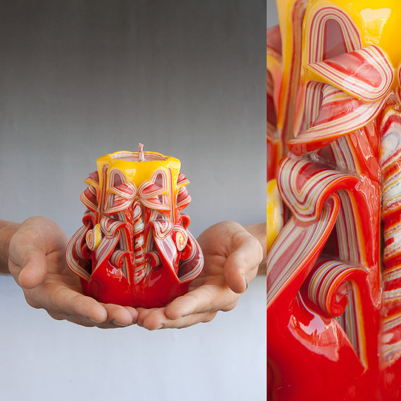 Beautiful- and -Romantic- Candle - Decorations- for- Valentine's- Day_16