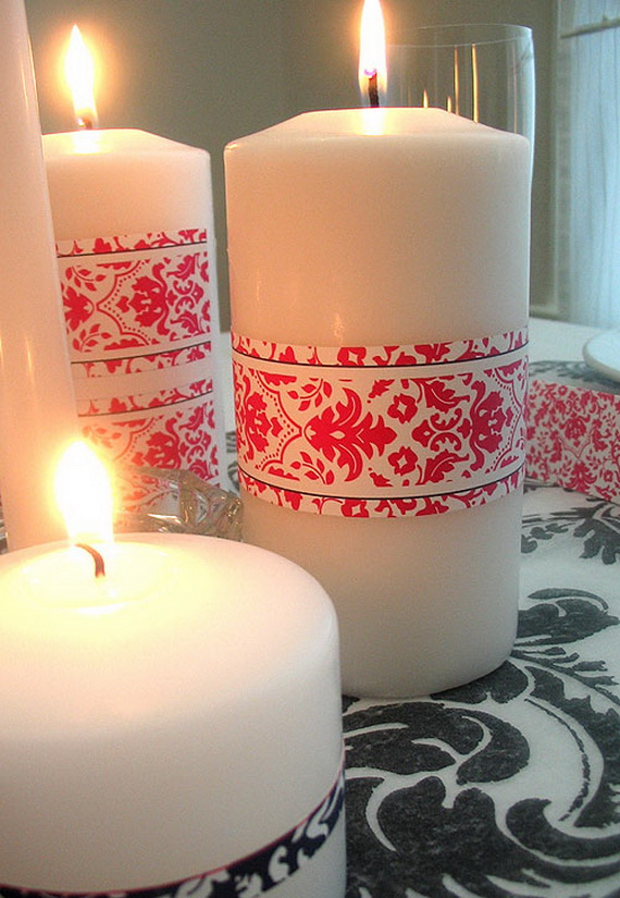 Beautiful- and -Romantic- Candle - Decorations- for- Valentine's- Day_45