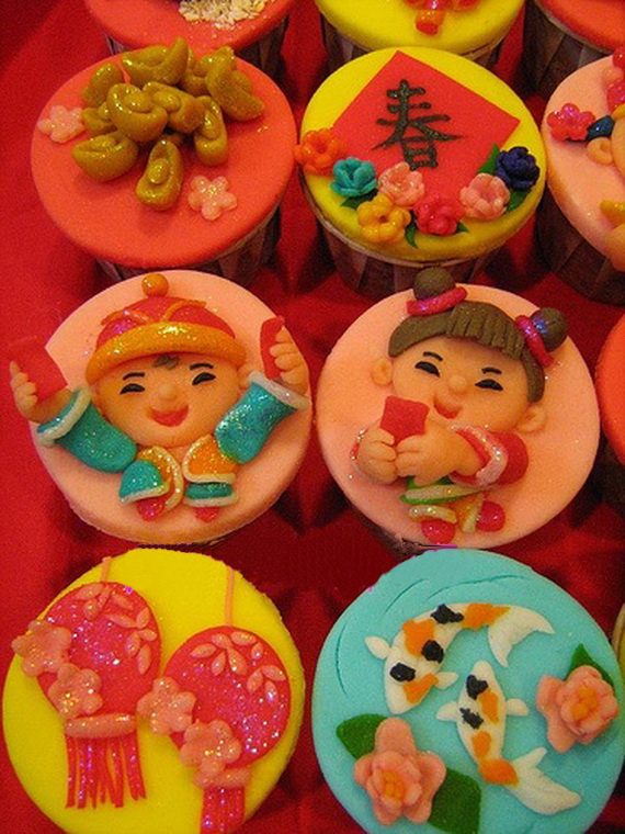 Chinese New Year Cupcake Designs for 2013 _02