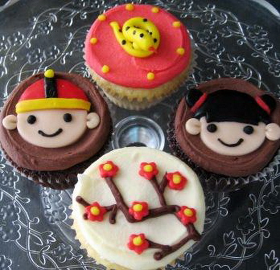 Chinese New Year Cupcake Designs for 2013 _06