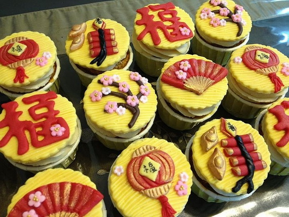 Chinese New Year Cupcake Designs for 2013 _24