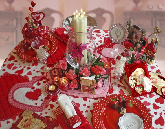 Romantic Table- Decorating- Ideas- for- Valentine's- Day-