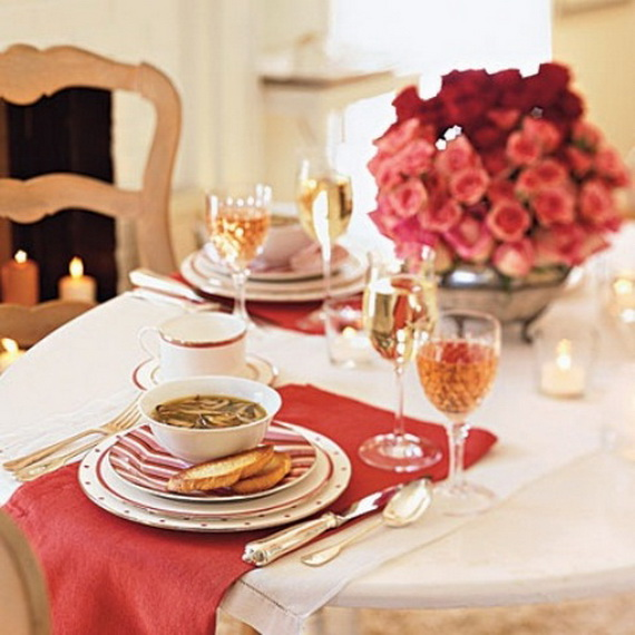Unique Elegant And Impressive Romantic Valentine S Day Table Settings