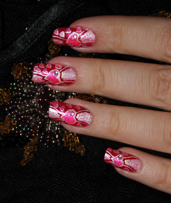Valentine's Day Nail Designs_21