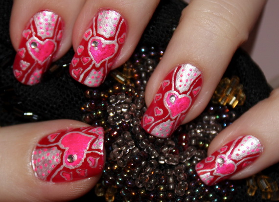 Valentine's Day Nail Designs_22