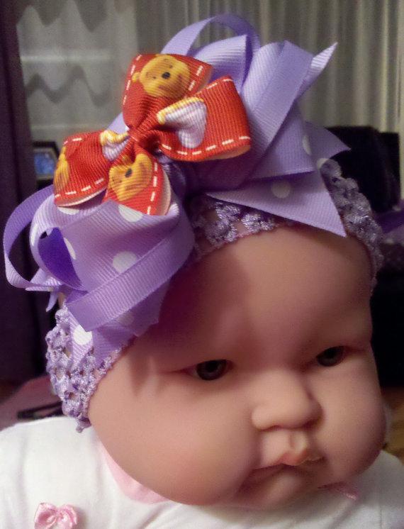 Winnie the Pooh Elegant Hair Bows For Girls _15