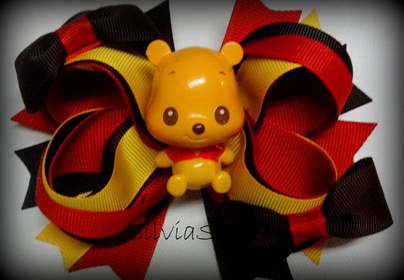 Winnie the Pooh Elegant Hair Bows For Girls _23